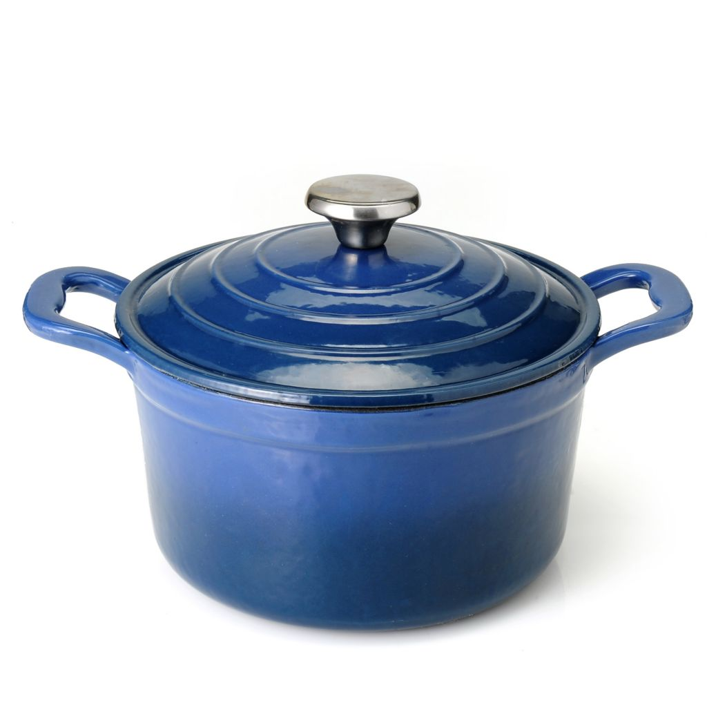 440-440 - Cook's Tradition™ Enameled Cast Iron 3 qt Dutch Oven w/ Lid