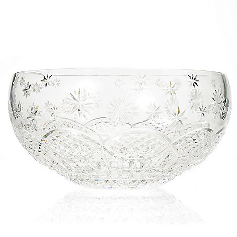 440-473 - House of Waterford® Crystal Under an Irish Sky 11'' Bowl - Signed by Tom Brennan