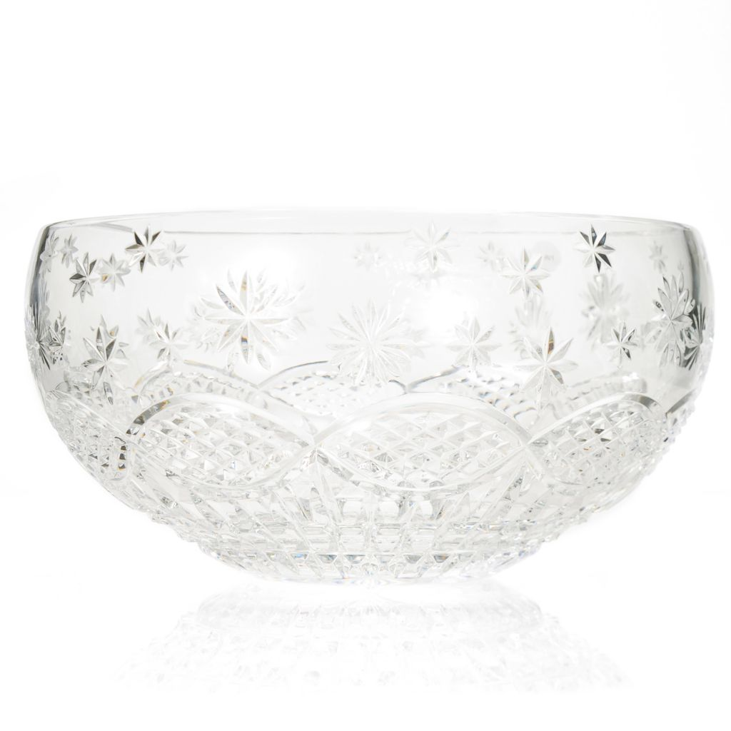"440-473 - House of Waterford® Crystal Under an Irish Sky 11"" Bowl - Signed by Tom Brennan"