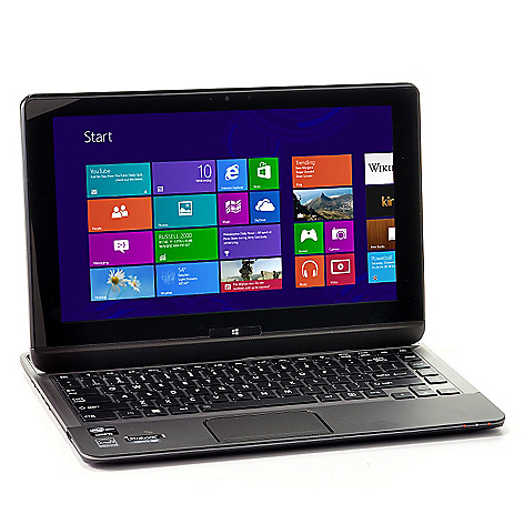 440-479 - Toshiba Satellite 12.5'' Touch Screen Core™ i5 4GB RAM/128GB SSD Convertible Ultrabook/Tablet
