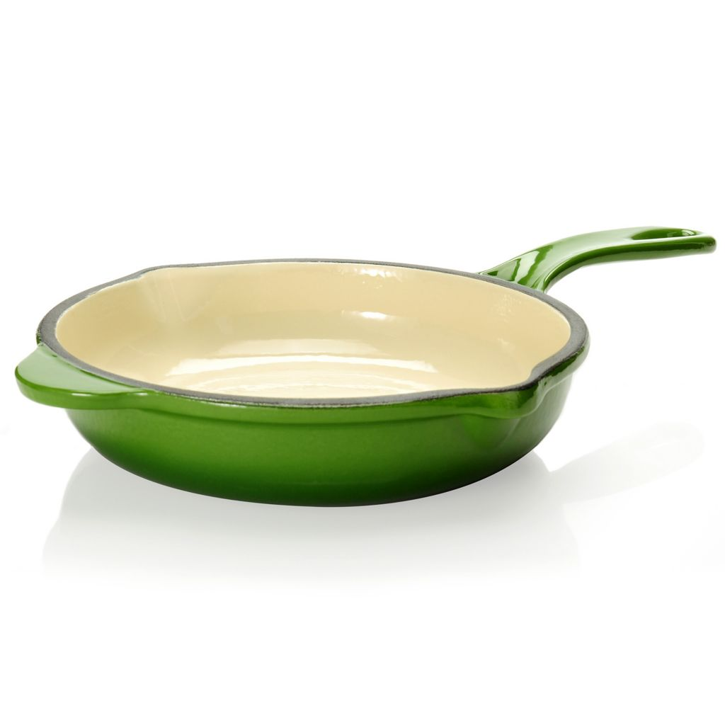 "440-487 - Cook's Tradition™ Stick-Resistant Enameled Cast Iron 9"" Sauté Pan"