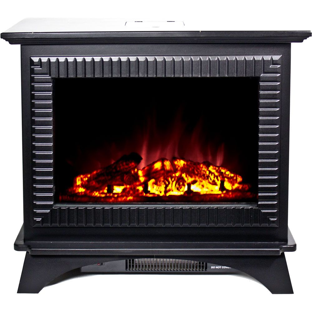 440-503 - Frigidaire Boston Cast Iron Floor Standing Electric Fireplace