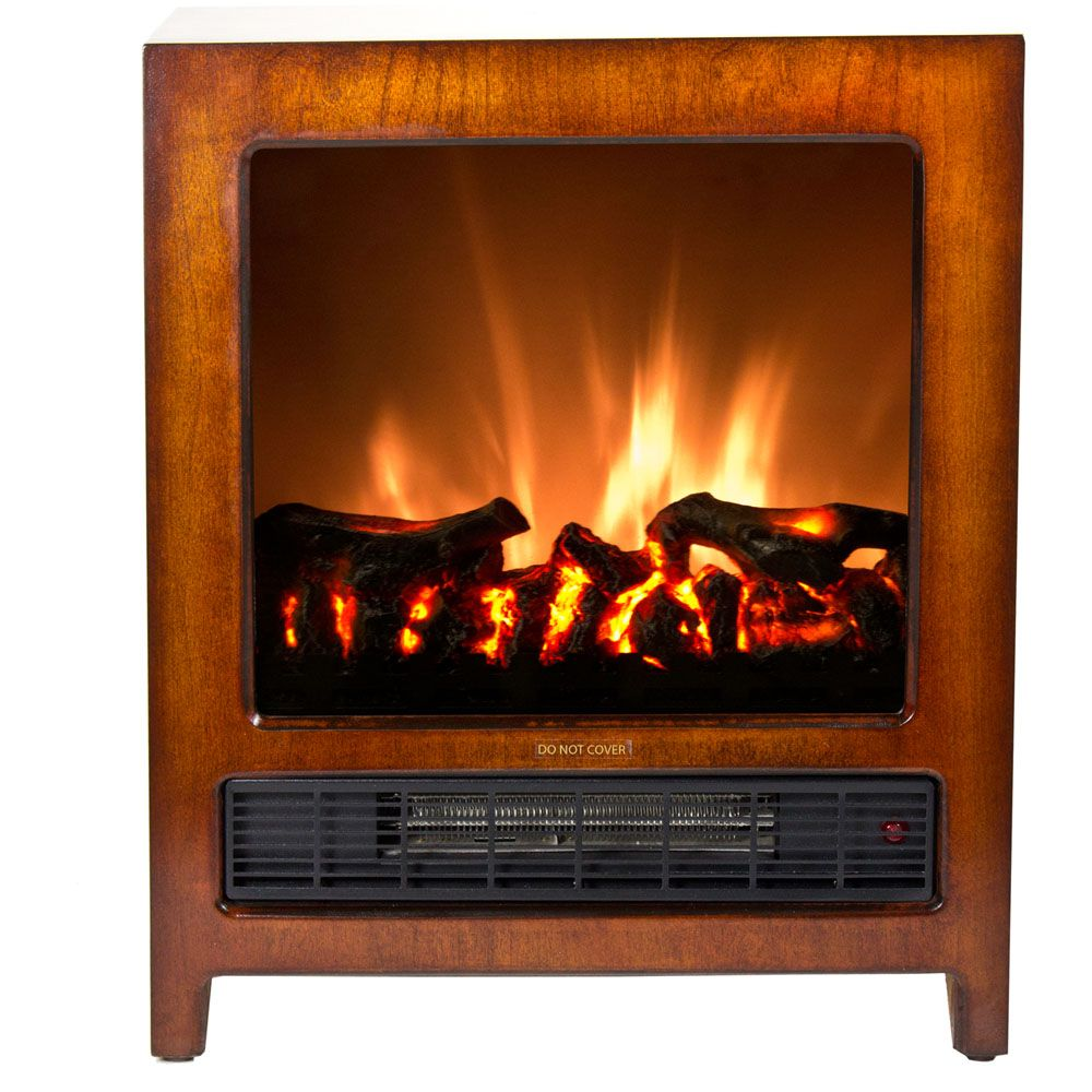 440-506 - Frigidaire Kingston Wooden Floor Standing Electric Fireplace
