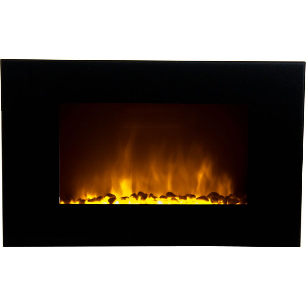 440-508 - Frigidaire Oslo Wall Hanging LED Fireplace with Color-Changing Flames