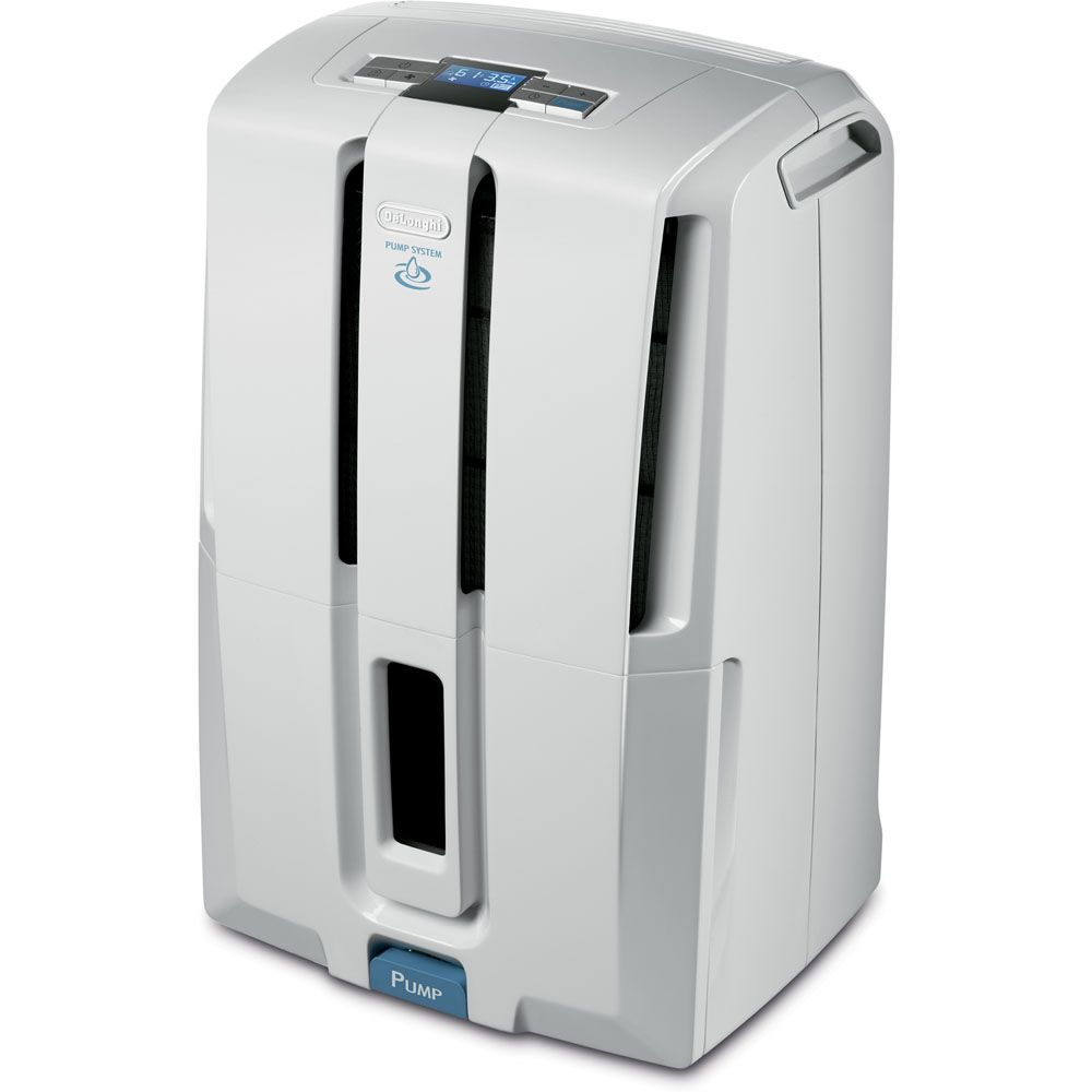 440-515 - DeLonghi Energy Star 45 Pint Dehumidifier w/ Patented Pump