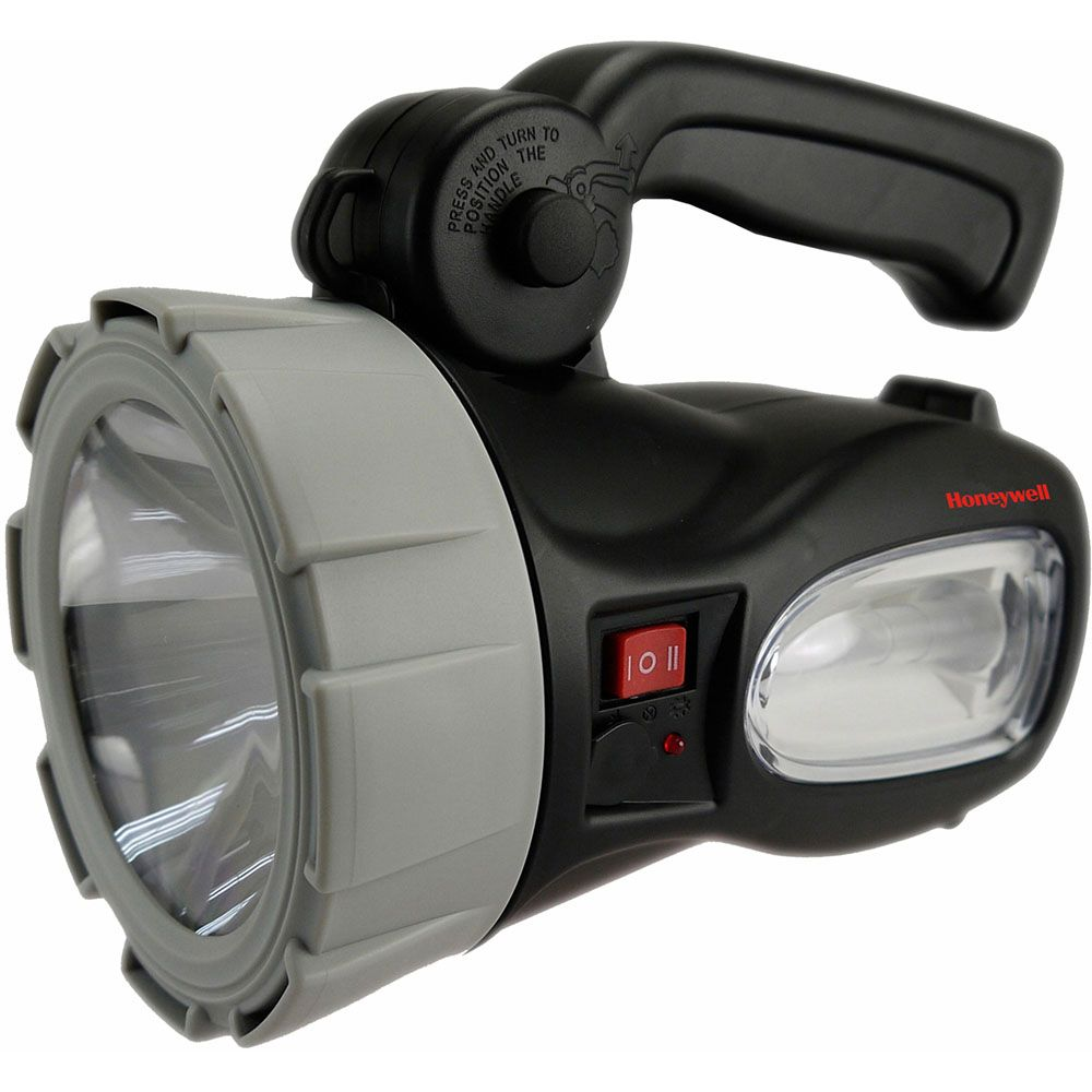 440-520 - Honeywell™ Rechargeable LED Spotlight w/ Built-in Back Up Lantern