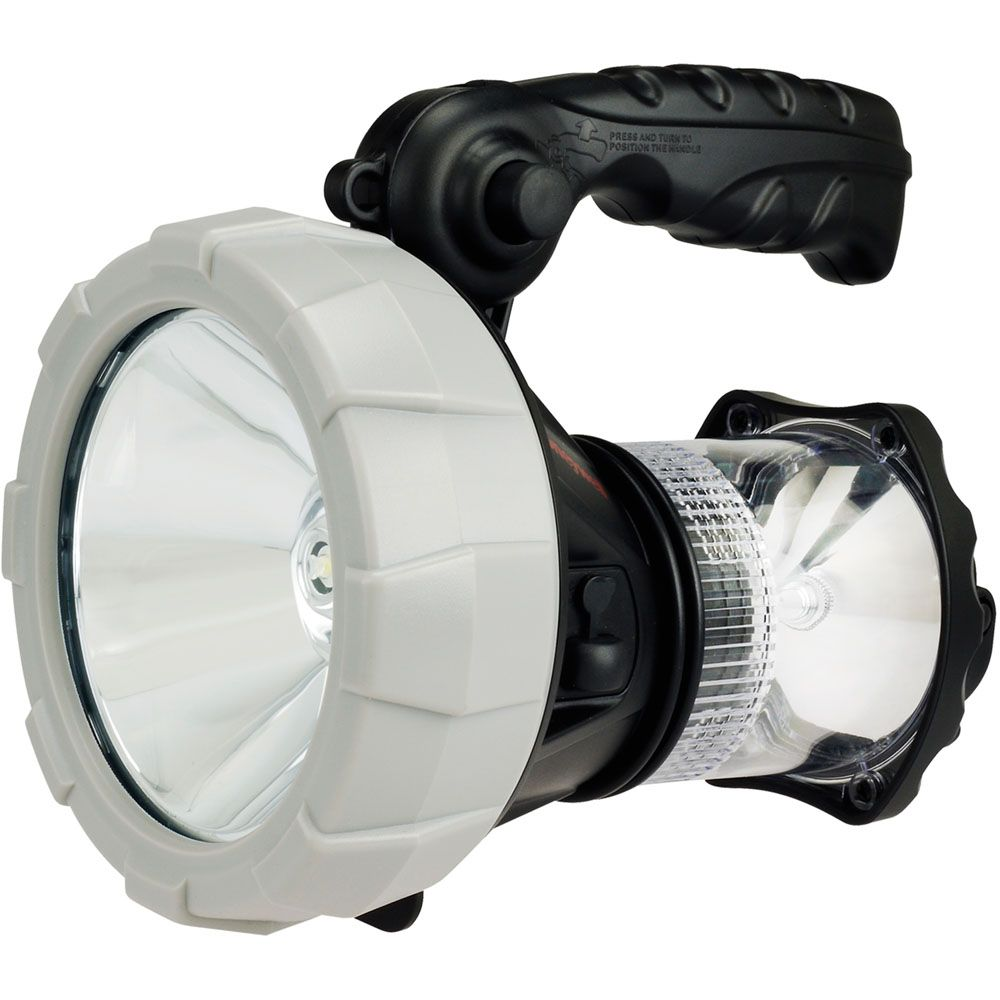 440-521 - Honeywell™ Rechargeable LED Spotlight w/ Built-in Camping Lantern