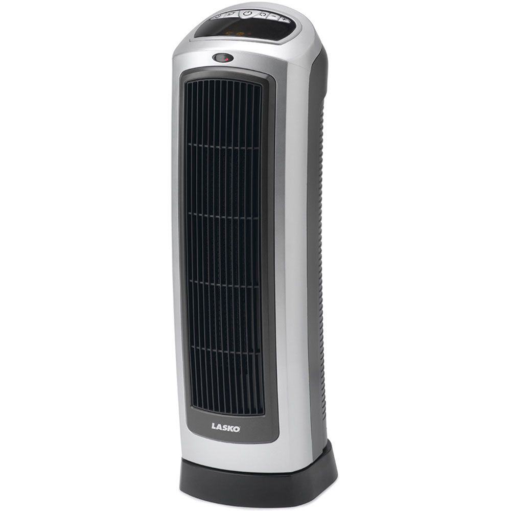 440-554 - Lasko Ceramic Tower Heater w/ Digital Display & Remote Control