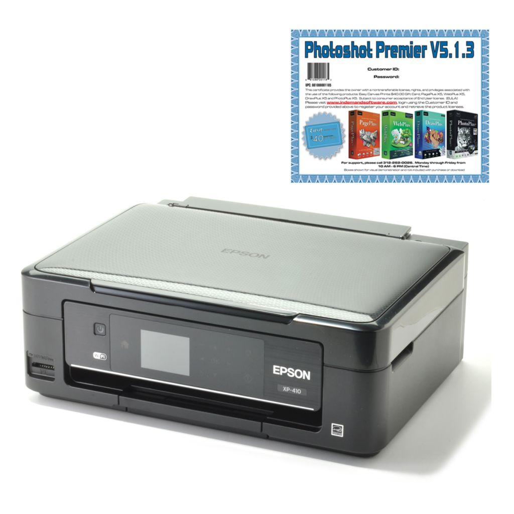440-590 - Epson Expression Home Three-in-One Wi-Fi Printer w/ Software