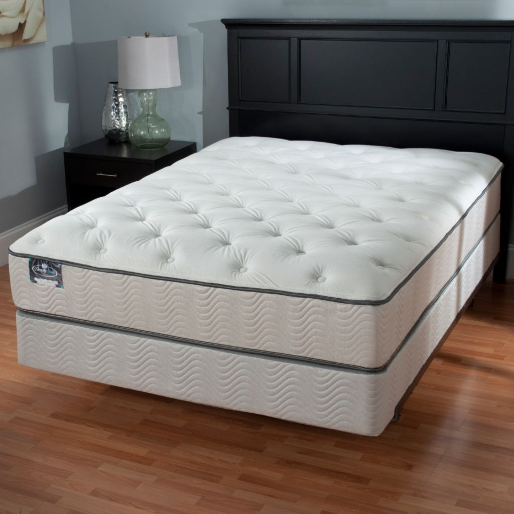440-631 - Simmons® BeautySleep® Murray River Plush Top Mattress Set