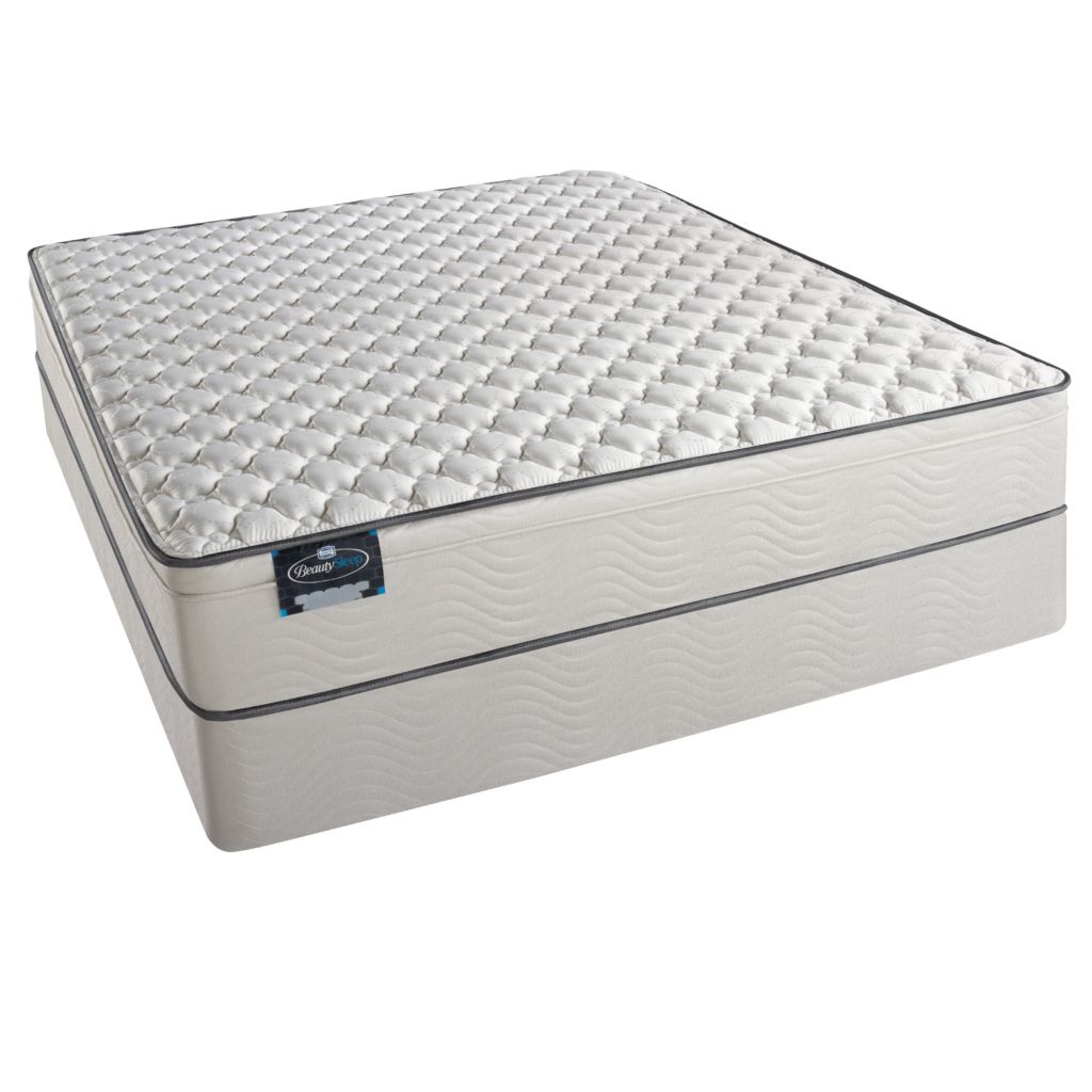 440-633 - Simmons® BeautySleep® Buenos Aires Euro Top Firm Mattress Set