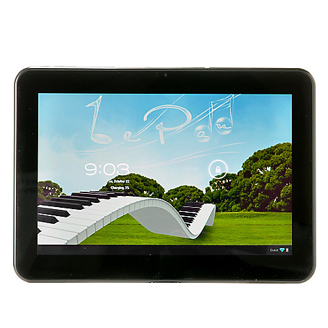 440-641 - Le Pan 10.1'' Google Certified Android™ 4.1 16GB Quad-Core Tablet w/ Bluetooth®