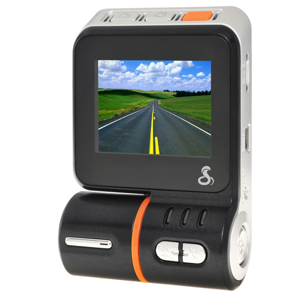 "440-664 - Cobra® Drive 1080p HD 2"" LED Screen Dash Cam w/ 8GB MicroSD Card"