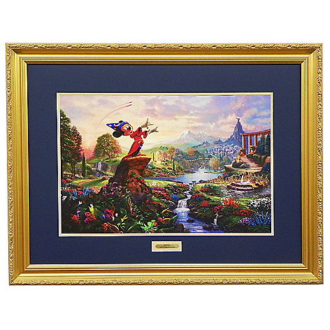 440-725 - Thomas Kinkade ''Fantasia'' Limited Edition Framed Textured Print