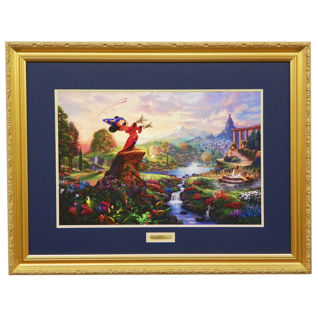 "440-725 - Thomas Kinkade ""Fantasia"" Limited Edition Framed Textured Print"