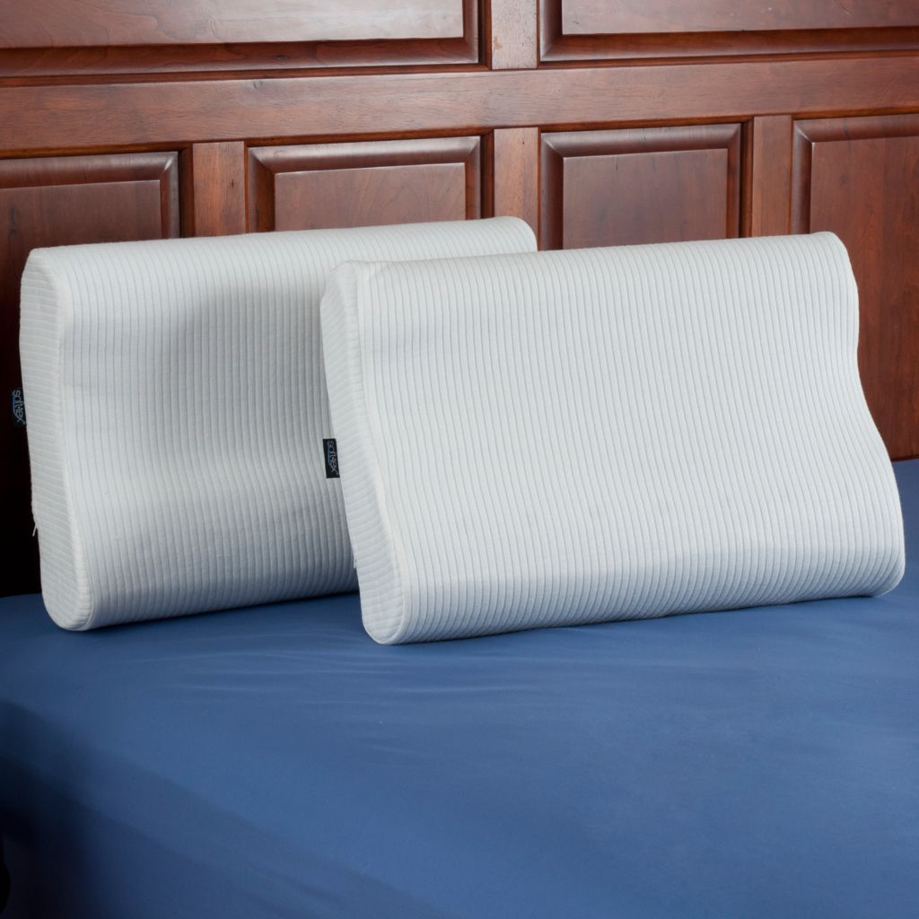 440-735 - SensorPEDIC® Memory Foam iCOOL™ Technology Contour Pillow Pair
