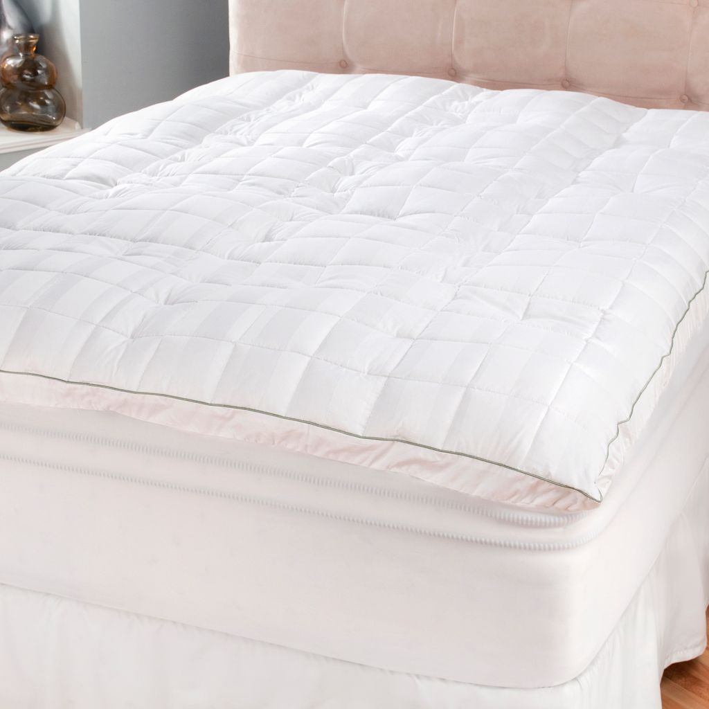 "440-736 - SensorLOFT 400TC 2"" Gusseted Imperial Memory Foam & Fiber Mattress Topper"