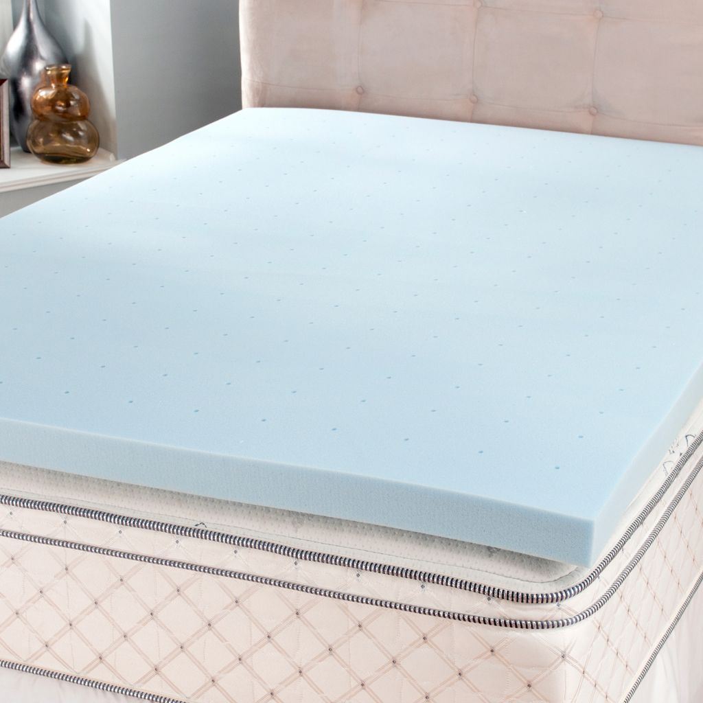 "440-737 - SensorLOFT 3"" Ventilated Memory Foam Mattress Topper"