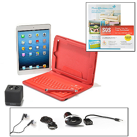 440-743 - Apple iPad Mini 7.9'' LED 16GB iOS Wi-Fi Tablet w/ Bluetooth® & Accessories