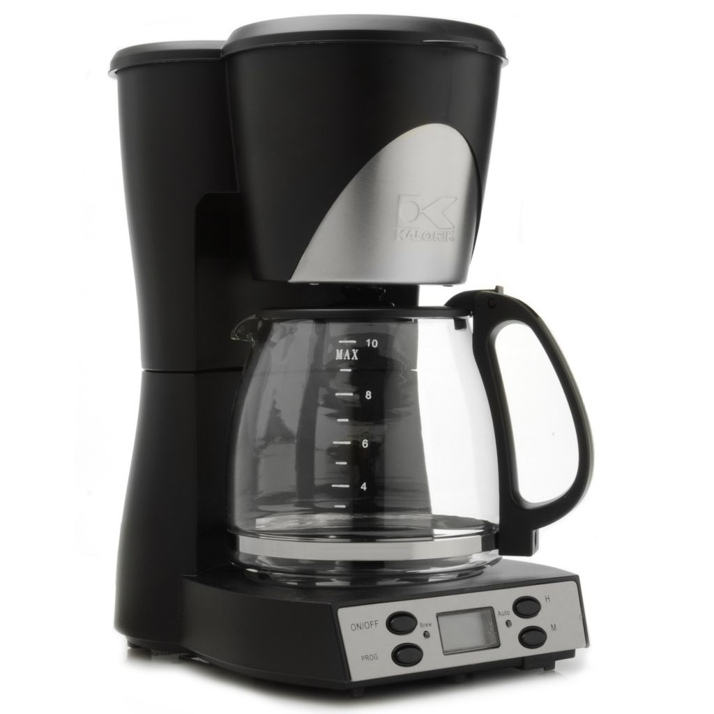 440-751 - Kalorik® 1000W 10-Cup Programmable Coffee Maker