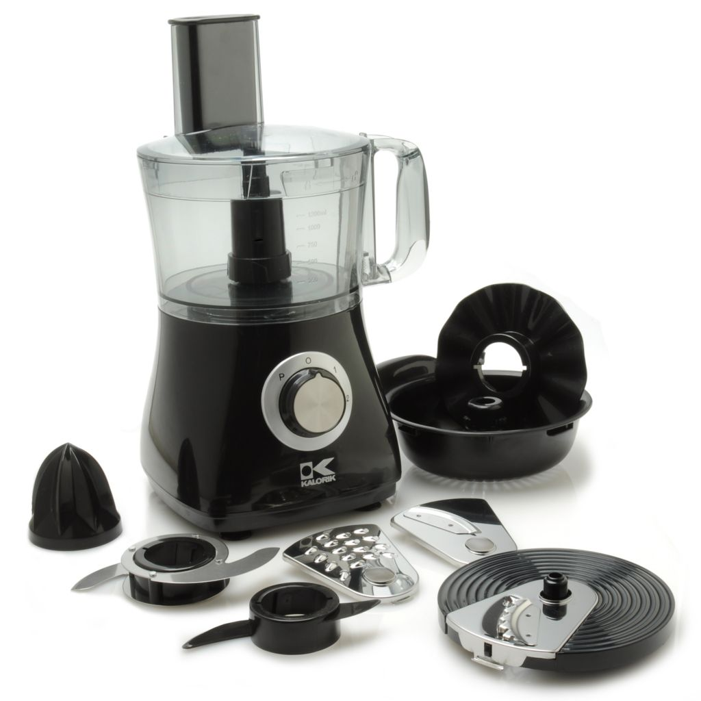 440-762 - Kalorik® 500W 7-in-1 All Purpose 8-Cup Food Processor