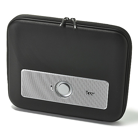 440-768 - Portable Amplified Stereo Speaker Case for Tablets & MP3 Players