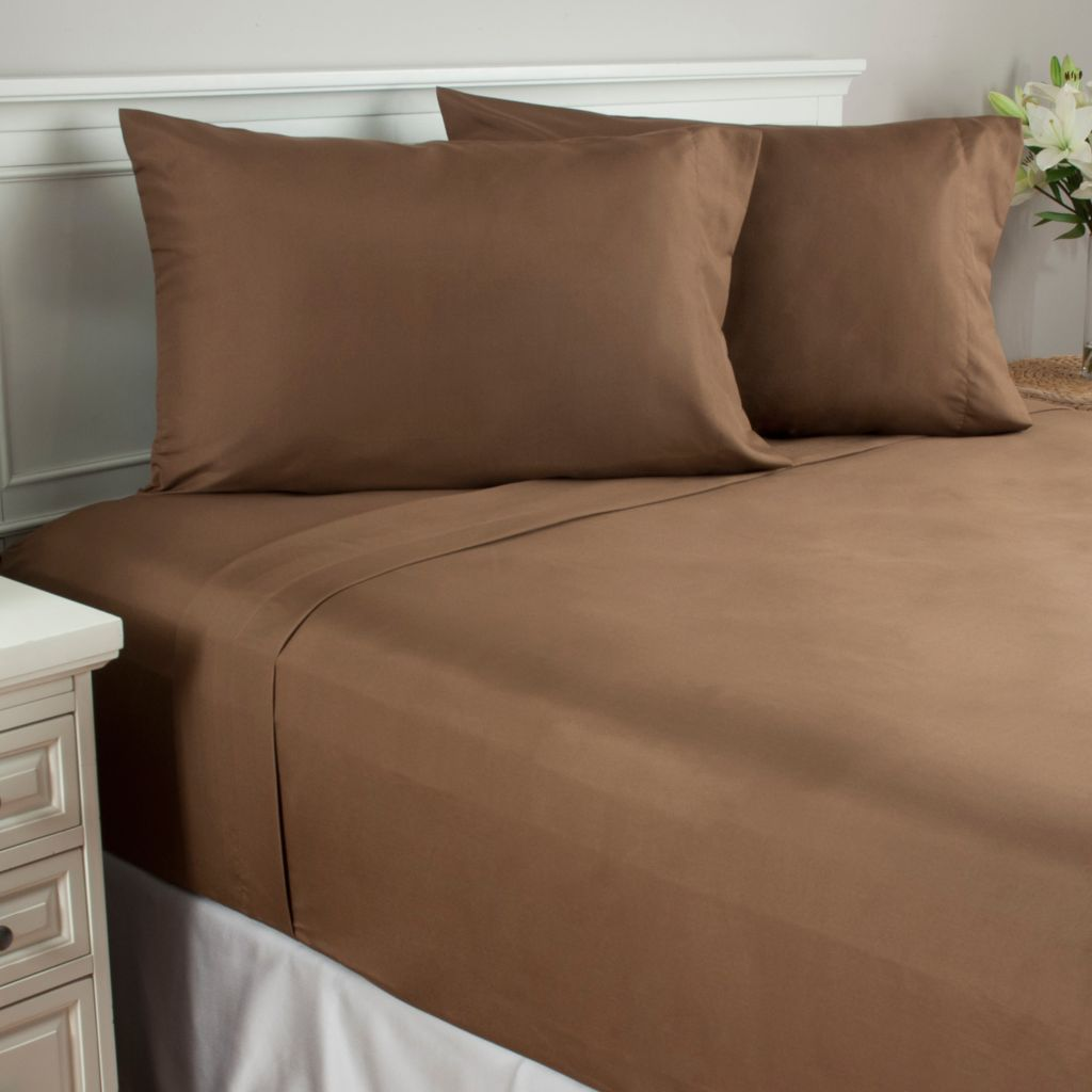 440-787 - Cozelle® Microfiber Four-Piece Sheet Set