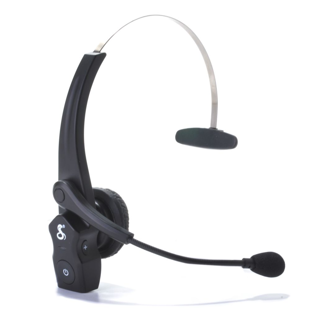440-793 - Cobra® Heavy Duty Noise-Canceling Bluetooth® Headset w/ USB Car Charger