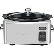 440-820 - Cuisinart® 6.5-Quart Programmable Stainless Steel Slow Cooker