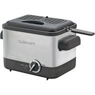 440-827 - Cuisinart® 1000-Watt Compact Stainless Steel Deep Fryer