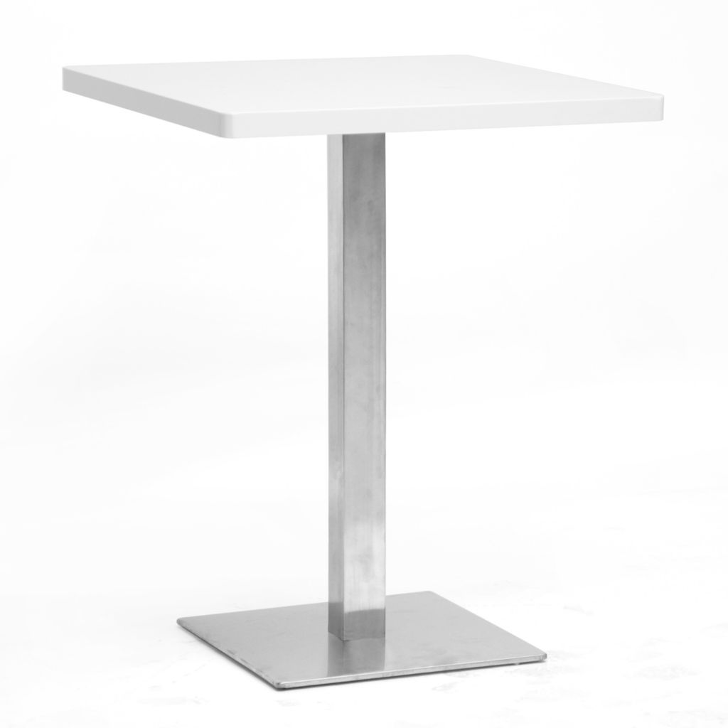 440-870 - Baxton Studio Monaco Small Square Modern Bistro Table