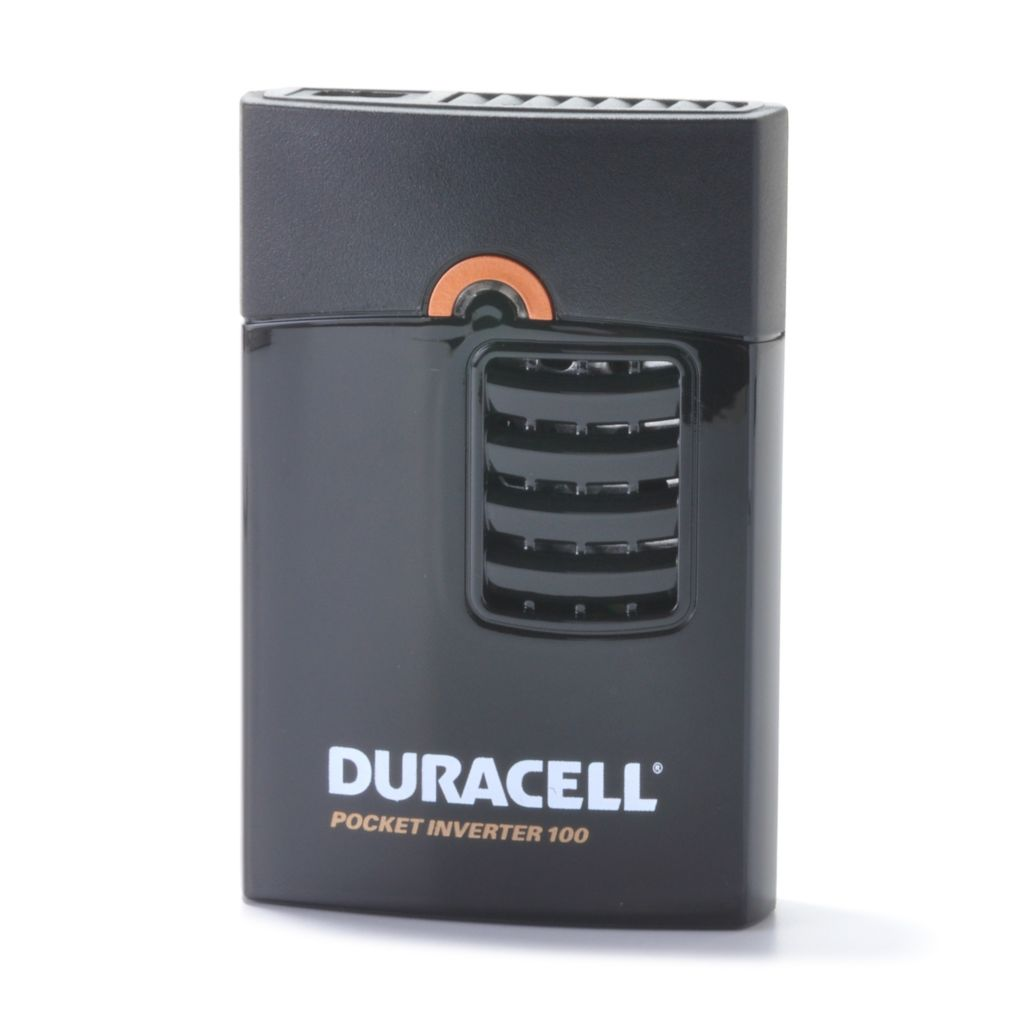 440-875 - Duracell® 100-Watt Pocket Inverter w/ USB Port