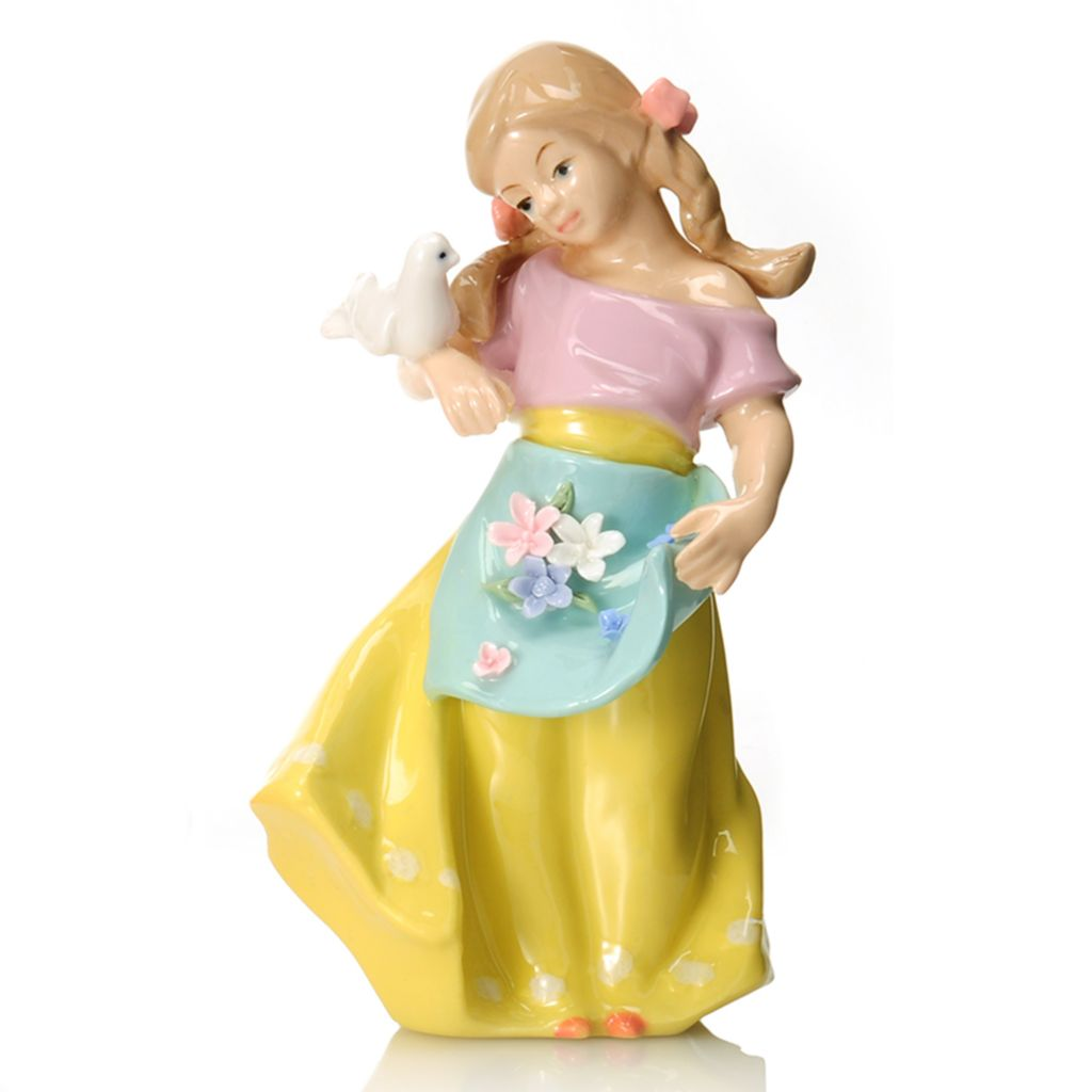 "440-939 - Sorelle® Single or Set of Three 8.25"" ""Tender Touch"" Porcelain Figurines"