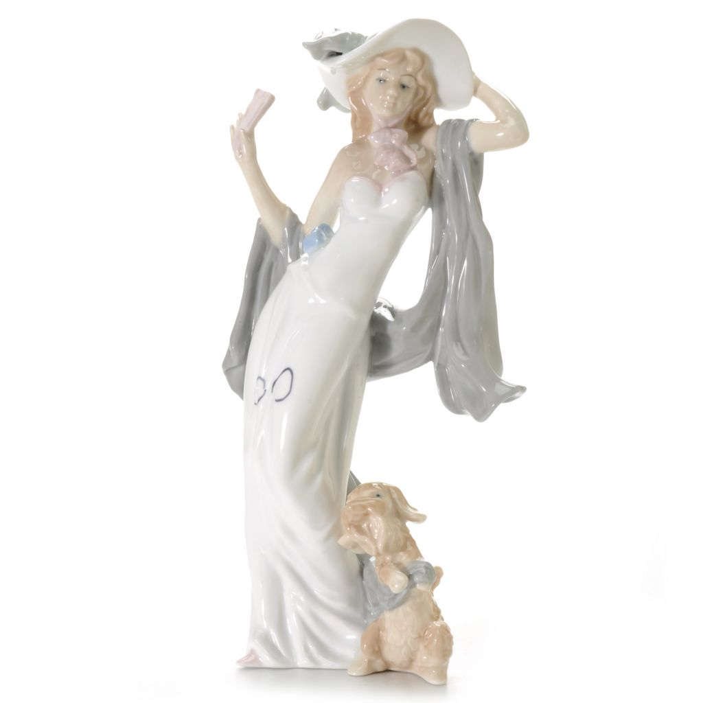"440-944 - Sorelle® ""Prance w/ Peter"" 12"" Porcelain Hand-Crafted Figurine"