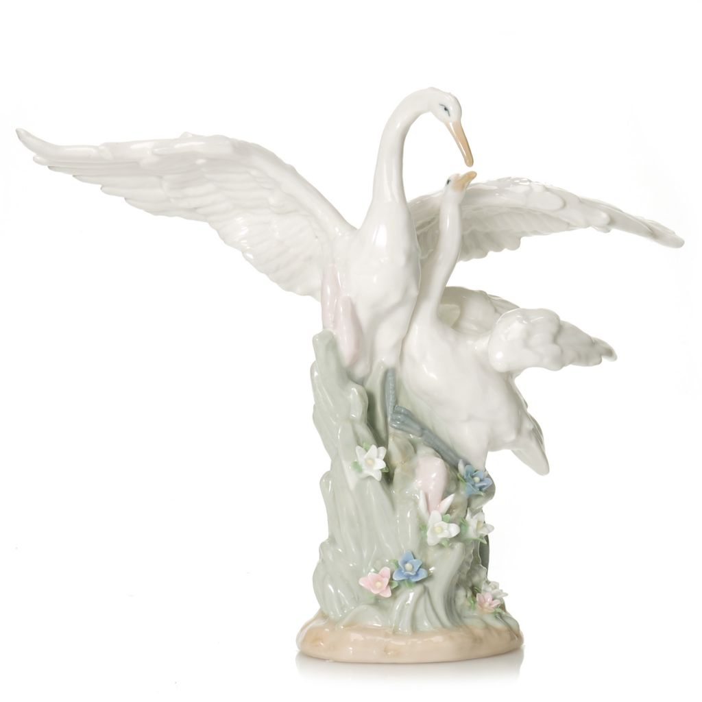 "440-947 - Sorelle® ""Protective Wings of Love"" 10"" Hand-Crafted Porcelain Figurine"