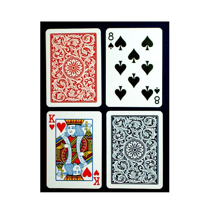 "440-995 - COPAG ""Blue & Red Export"" Regular Size Poker Cards"