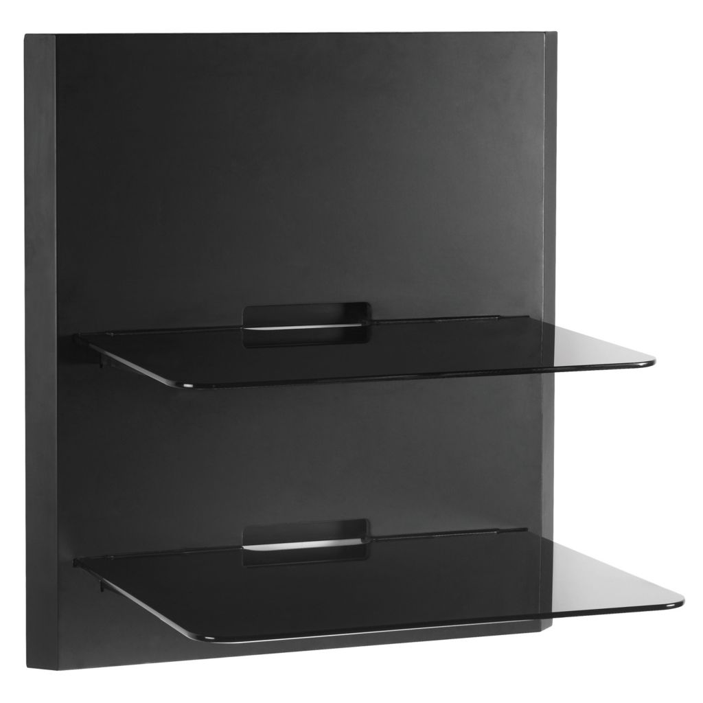 441-022 - Omnimount™ Blade Series Stackable Glass Wall Shelves - 2 Shelf Unit