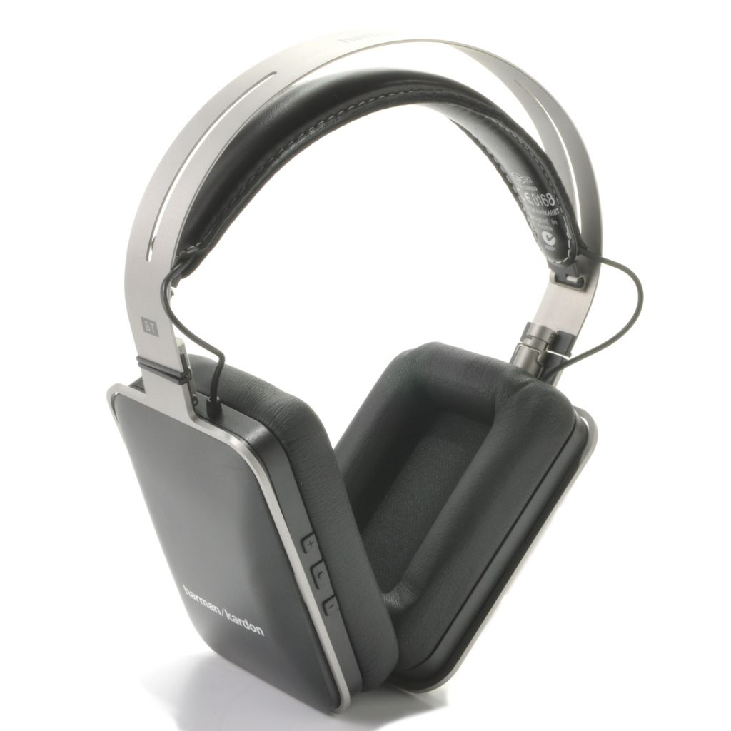 441-032 - Harman Kardon® Premium Bluetooth® Over-the-Ear Headphones w/ Built-in Mic