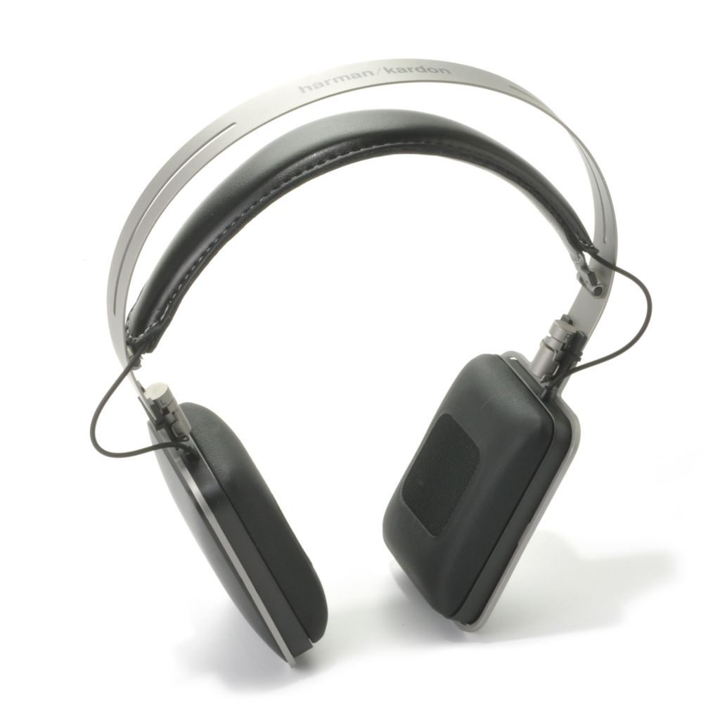 441-033 - Harmon Kardon High Performance On-Ear Headphones w/ Built-in Mic & 3-Button Remote