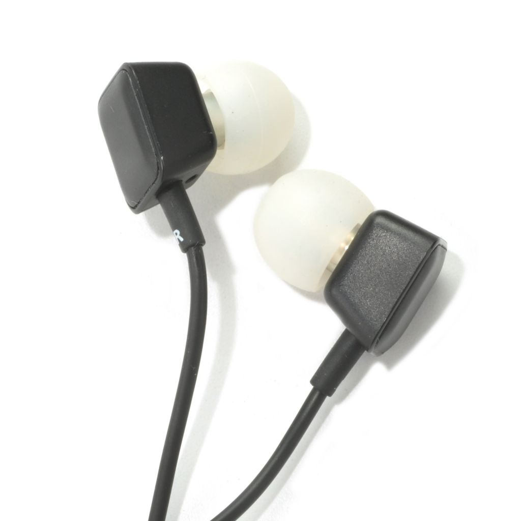 441-034 - Harman Kardon® Precision In-Ear Headphones w/ Built-in Mic & 3-Button Remote