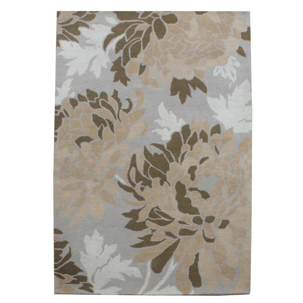 441-074 - Global Rug Gallery Floral Dream Hand-Tufted Wool & Viscose Rug