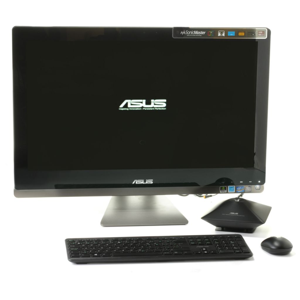 "441-105 - ASUS 27"" Intel Core™ i7 HD Touchscreen 8GB RAM/1TB HD Windows® 8 All-in-One PC"