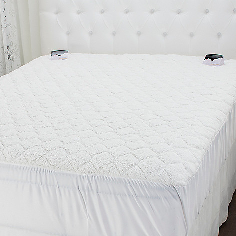 441-124 - Cozelle® Sherpa Digital Heated Mattress Pad