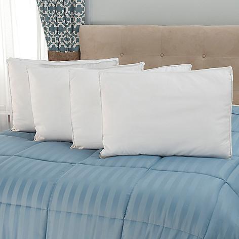 441-222 - Cozelle® Set of Four 1000TC Cotton Down Alternative Pillows