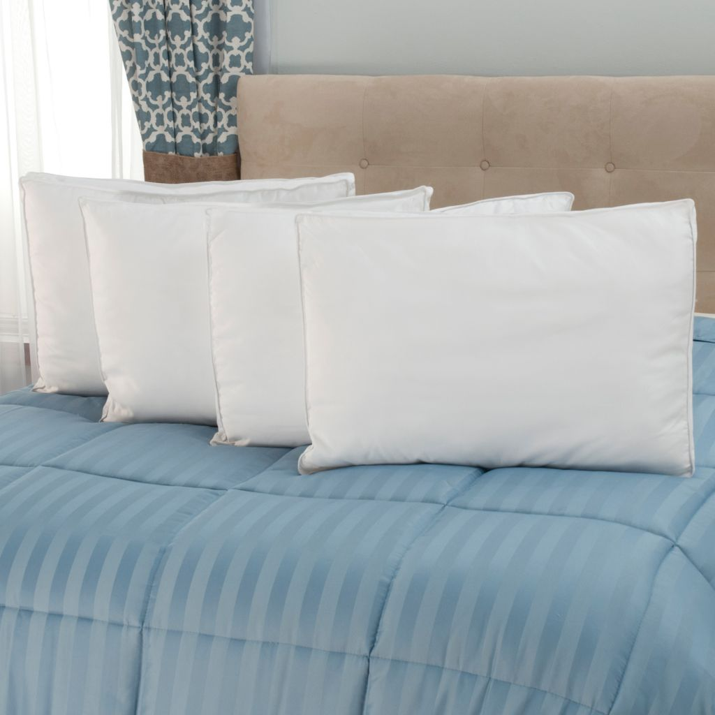 441-222 - Cozelle® Set of Four 1000TC Cotton Down Alternative Pillows