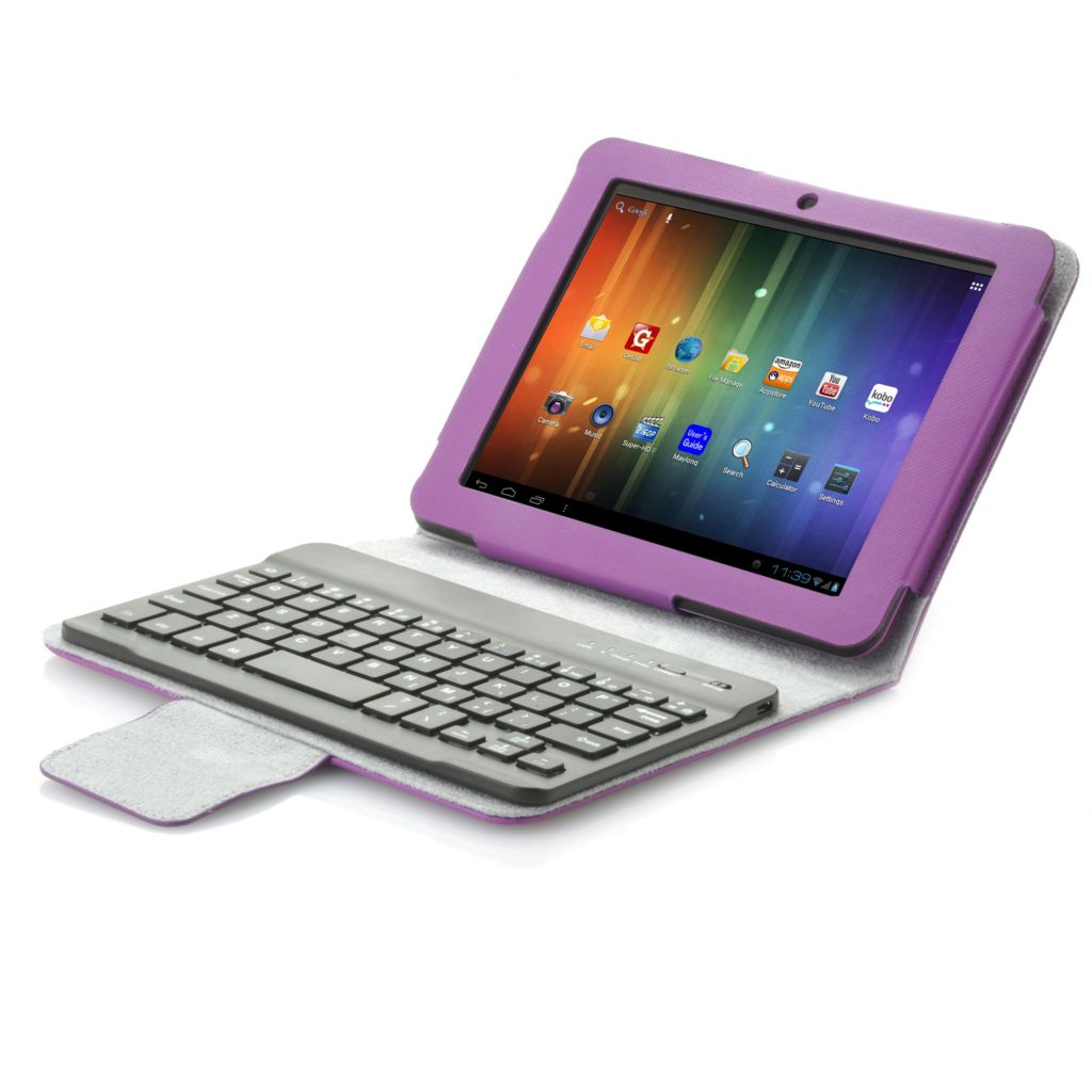 "441-225 - Proscan 8"" or 10"" Google Certified Android™ 4.1 Dual-Core Tablet & Bluetooth® Keyboard"