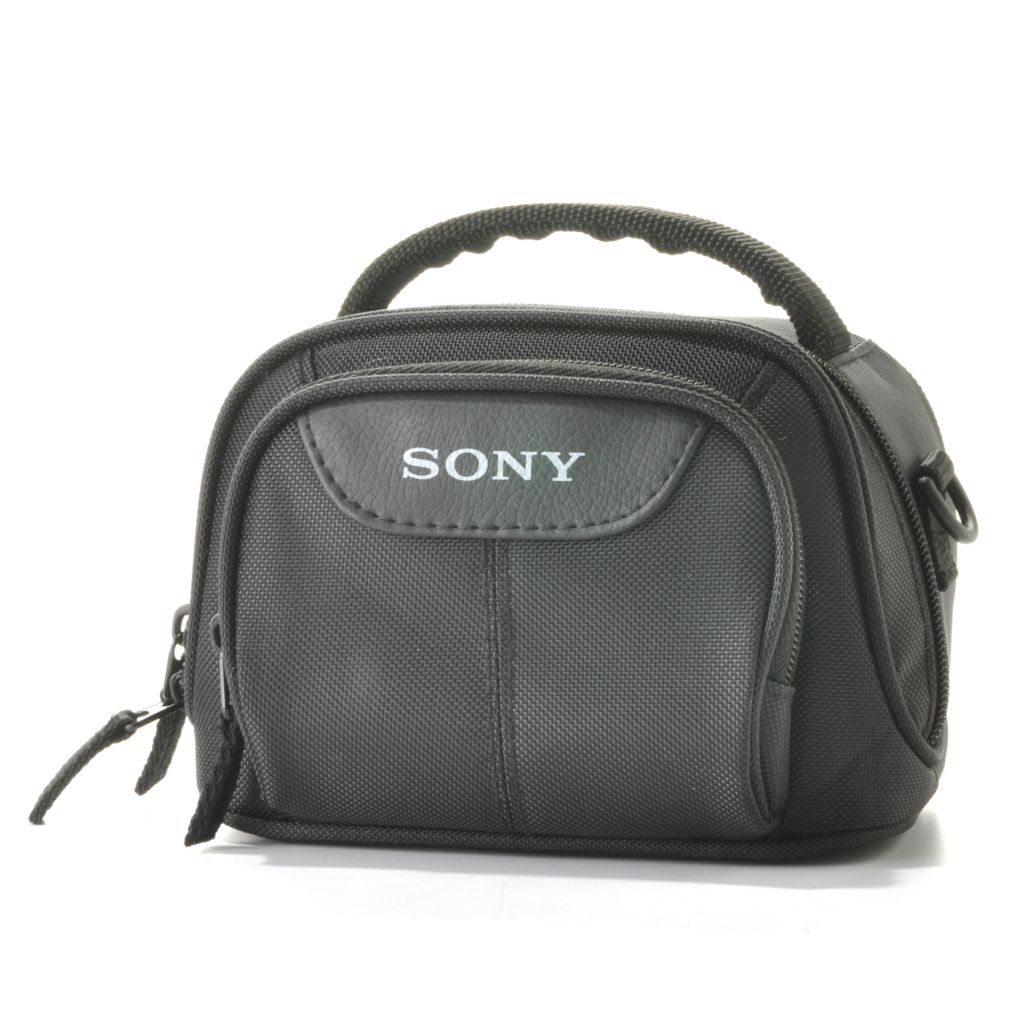 441-269 - Sony Camcorder Case w/ Shoulder Strap & Two Zippered Compartments