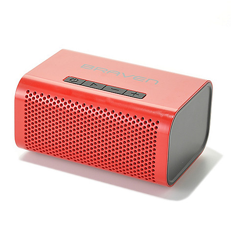 441-274 - Braven 6W HD Portable Water Resistant Bluetooth® Speaker & Speakerphone