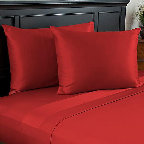 441-283 - Cozelle® Fine Weave Satin Pillowcase Pair