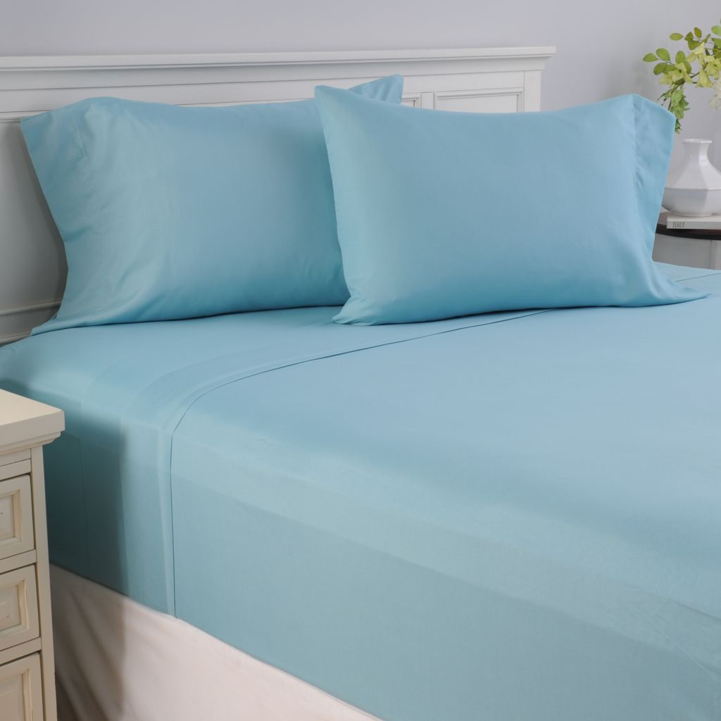 441-314 - Cozelle® Choice of Color Microfiber Four-Piece Sheet Set